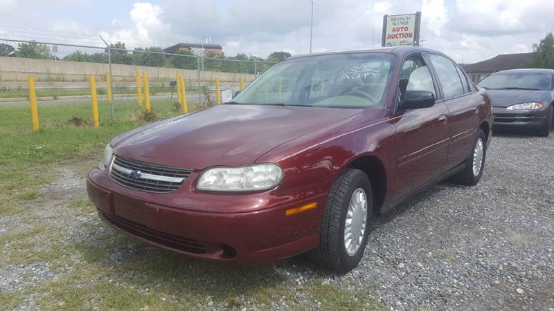2002 Chevrolet Malibu for sale at Branch Avenue Auto Auction in Clinton MD