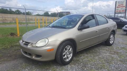 2002 Dodge Neon for sale at Branch Avenue Auto Auction in Clinton MD