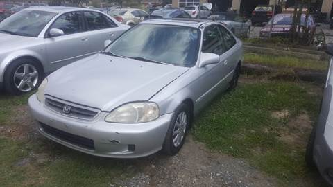 1999 Honda Civic for sale at Branch Avenue Auto Auction in Clinton MD