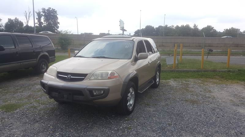 2001 Acura MDX for sale at Branch Avenue Auto Auction in Clinton MD