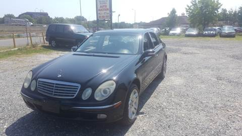 2003 Mercedes-Benz E-Class for sale at Branch Avenue Auto Auction in Clinton MD