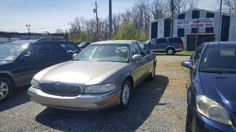 2000 Buick Park Avenue for sale at Branch Avenue Auto Auction in Clinton MD