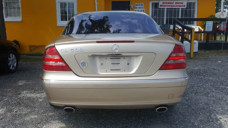2002 Mercedes-Benz CL-Class for sale at Branch Avenue Auto Auction in Clinton MD