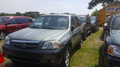 2004 Mazda Tribute for sale at Branch Avenue Auto Auction in Clinton MD