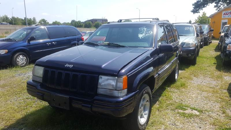 1998 Jeep Grand Cherokee for sale at Branch Avenue Auto Auction in Clinton MD