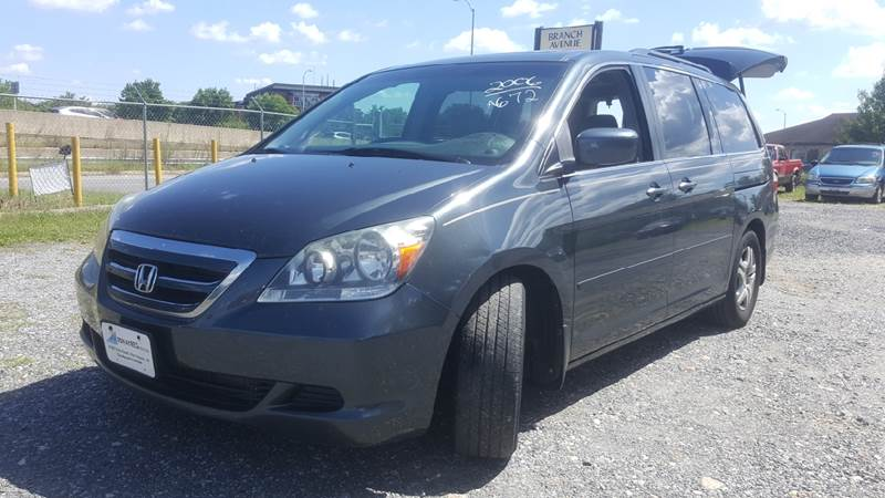 2006 Honda Odyssey for sale at Branch Avenue Auto Auction in Clinton MD