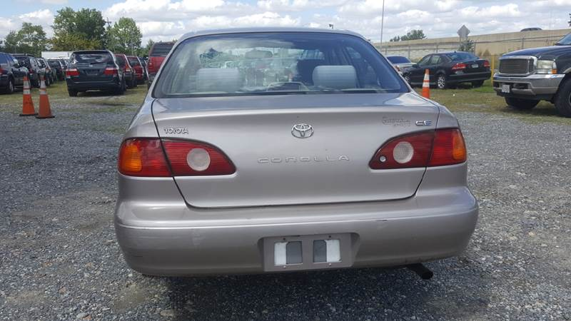 2001 Toyota Corolla for sale at Branch Avenue Auto Auction in Clinton MD
