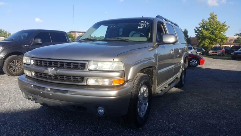 2002 Chevrolet Suburban for sale at Branch Avenue Auto Auction in Clinton MD