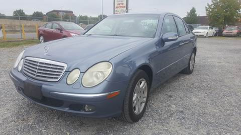 2004 Mercedes-Benz E-Class for sale at Branch Avenue Auto Auction in Clinton MD