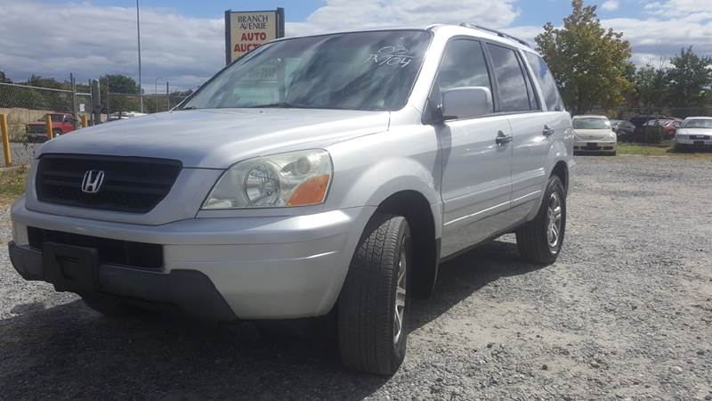 2003 Honda Pilot For Sale At Branch Ave Auto Auction In Clinton MD