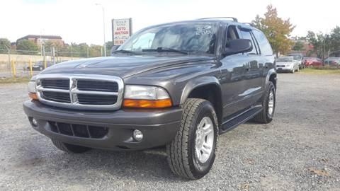 2003 Dodge Durango for sale at Branch Avenue Auto Auction in Clinton MD