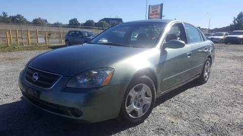 2002 Nissan Altima for sale at Branch Avenue Auto Auction in Clinton MD