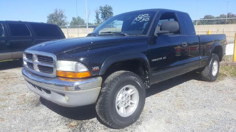 2000 Dodge Dakota for sale at Branch Avenue Auto Auction in Clinton MD