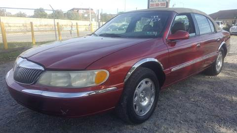 1999 Lincoln Continental for sale in Clinton, MD