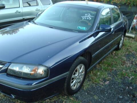 2002 Chevrolet Impala for sale at Branch Avenue Auto Auction in Clinton MD