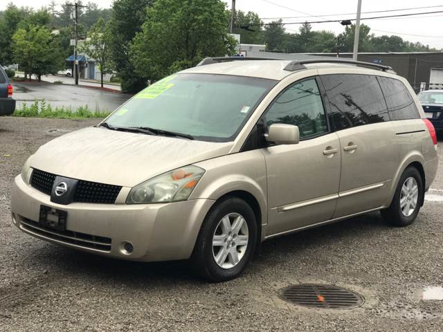 2004 nissan quest 3 5 sl in leominster ma united auto sales and repair. Black Bedroom Furniture Sets. Home Design Ideas