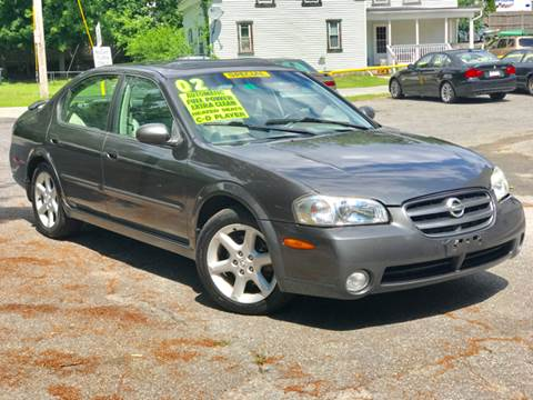 2002 Nissan Maxima for sale at United Auto Service in Leominster MA