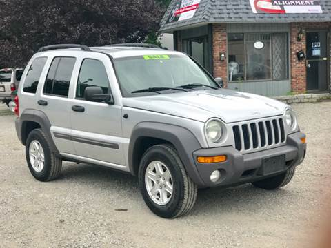 2004 Jeep Liberty for sale at United Auto Service in Leominster MA