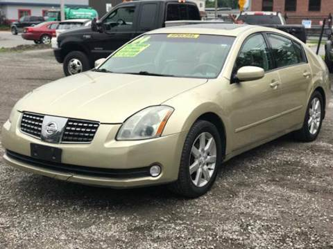 2004 Nissan Maxima for sale at United Auto Service in Leominster MA