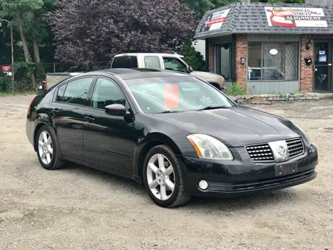 2005 Nissan Maxima for sale at United Auto Service in Leominster MA