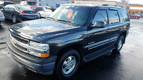 2003 Chevrolet Tahoe for sale at United Auto Service in Leominster MA