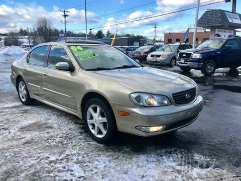 2004 Infiniti I35 for sale at United Auto Service in Leominster MA