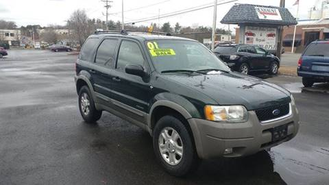 2001 Ford Escape for sale at United Auto Service in Leominster MA