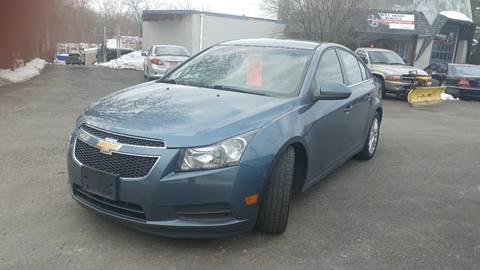 2012 Chevrolet Cruze for sale at United Auto Service in Leominster MA