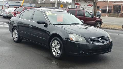 2005 Nissan Altima for sale at United Auto Service in Leominster MA