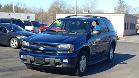 2002 Chevrolet TrailBlazer for sale at United Auto Service in Leominster MA