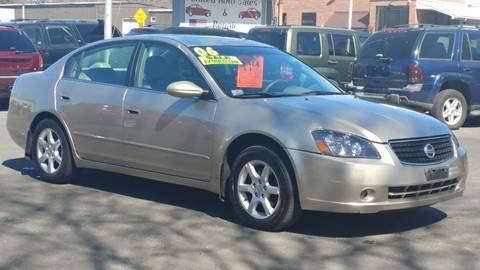 2006 Nissan Altima for sale at United Auto Service in Leominster MA