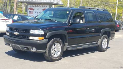 2005 Chevrolet Suburban for sale at United Auto Service in Leominster MA
