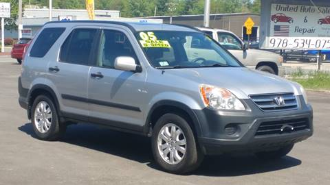 2005 Honda CR-V for sale at United Auto Service in Leominster MA
