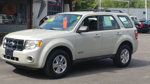 2008 Ford Escape for sale at United Auto Service in Leominster MA