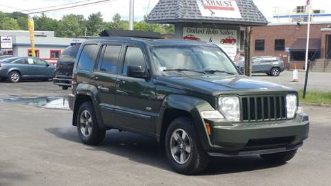 2008 Jeep Liberty for sale at United Auto Service in Leominster MA