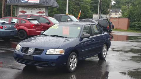 2006 Nissan Sentra for sale at United Auto Service in Leominster MA