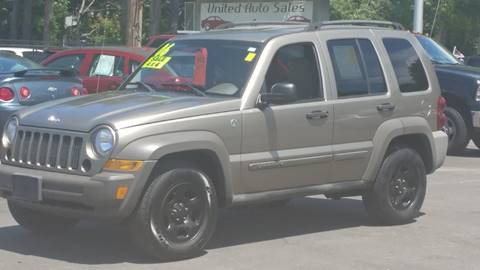 2006 Jeep Liberty for sale at United Auto Service in Leominster MA