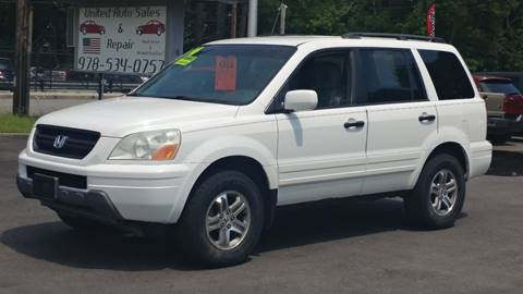 2004 Honda Pilot for sale at United Auto Service in Leominster MA