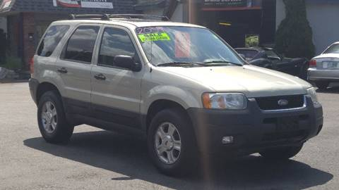 2004 Ford Escape for sale at United Auto Service in Leominster MA