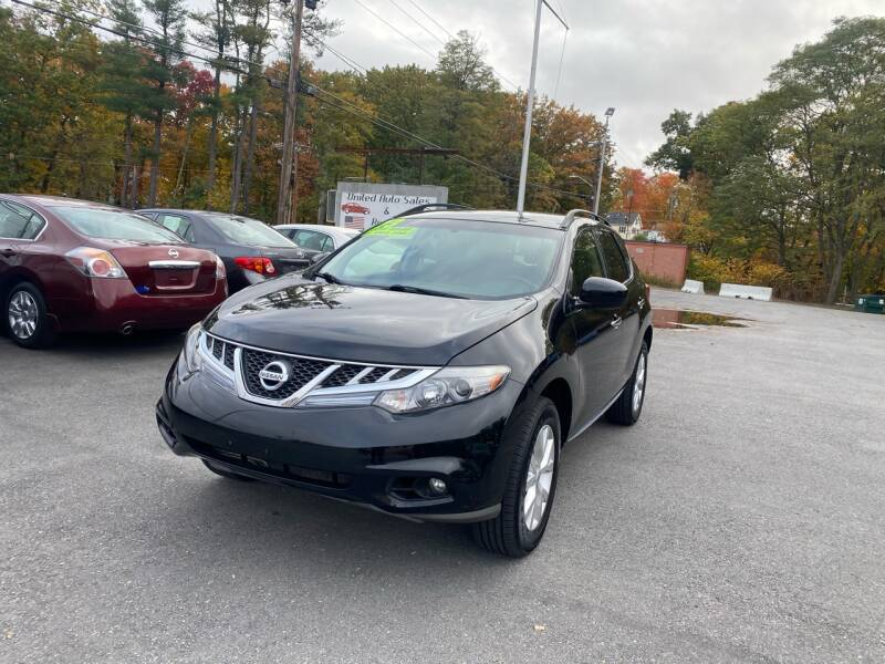 2013 Nissan Murano for sale at United Auto Service in Leominster MA