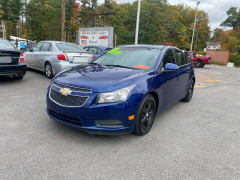 2013 Chevrolet Cruze for sale at United Auto Service in Leominster MA