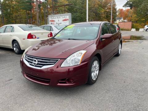 2010 Nissan Altima for sale at United Auto Service in Leominster MA