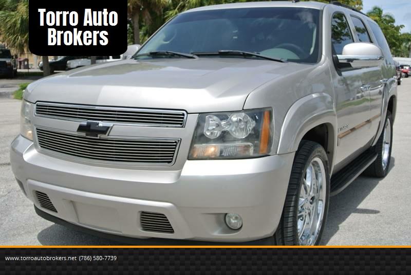 2007 Chevrolet Tahoe for sale at Torro Auto Brokers in Miami FL