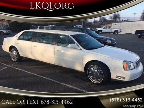 Limousine For Sale >> 2003 Cadillac Deville Professional For Sale In We Help Ship Worldwide Az