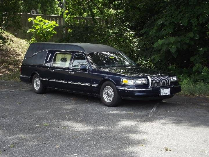 1997 Lincoln Town Car Hearse In We Help Ship Worldwide Az Lkq1 Org