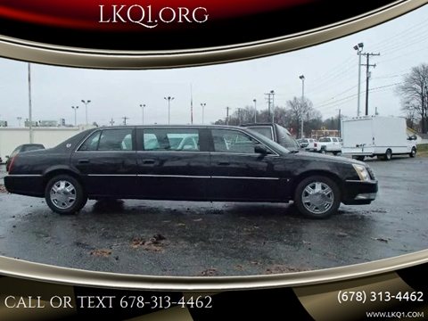 Limo For Sale >> 2006 Cadillac Dts Pro For Sale In We Help Ship Worldwide Az