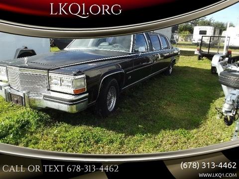 1985 Cadillac Fleetwood Brougham for sale in We Help Ship Worldwide!, AZ