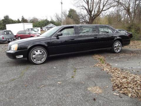 2001 Cadillac Deville Professional for sale at LKQ GLOBAL LLC in Atlanta GA