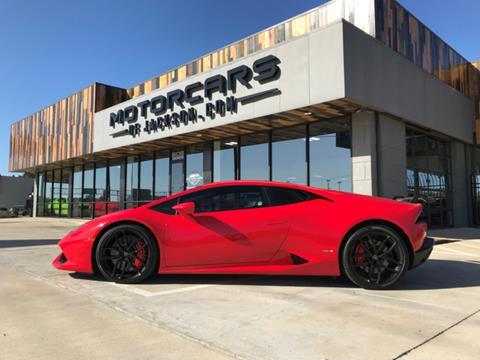 2015 Lamborghini Huracan for sale in Jackson, MS