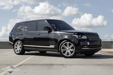 2016 Land Rover Range Rover for sale in Jackson, MS
